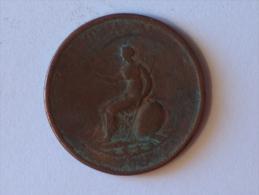 Grande-Bretagne 1/2 Half Penny 1799 - 1662-1816 : Anciennes Frappes Fin XVII° - Début XIX° S.