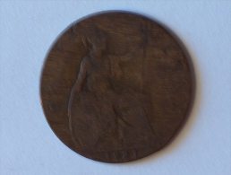 Grande-Bretagne 1/2 Half Penny 1921 - 1902-1971 : Monnaies Post-Victoriennes