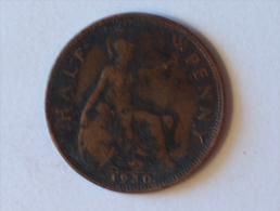 Grande-Bretagne 1/2 Half Penny 1930 - 1902-1971 : Monnaies Post-Victoriennes