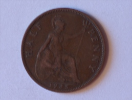 Grande-Bretagne 1/2 Half Penny 1935 - 1902-1971 : Monnaies Post-Victoriennes