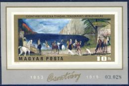 #O106. Hungary 1973. Kosztka  Paintings. Michel  Block 98B. MNH(**). - Blocs-feuillets