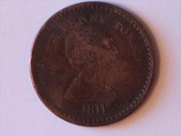 Grande-Bretagne One Penny Token 1811 Civitas Bristol - 1662-1816 : Anciennes Frappes Fin XVII° - Début XIX° S.