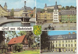 B73443 Rundolstadt    2 Scans - Rudolstadt