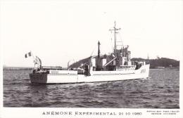 Marine Nationale Batiment Militaire M 665 Anemone Experimental 21-10-1960 Marius Bar - Oorlog