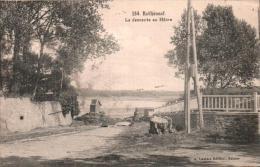 35 ROTHENEUF LA DESCENTE AU HAVRE  CIRCULEE 1928 - Rotheneuf