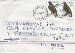 Congo 1993 Brazzaville Eagle Bird Of Prey Cover - Congo - Brazzaville