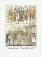 CZ 2013-766 JOENT ISSUES CIRIL AND METHODIE, CZECH REPUBLIK, S/S, MNH - Gemeinschaftsausgaben