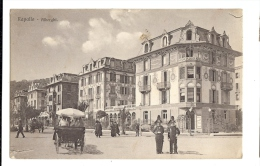 1923 Italy Rapallo Alberghi Splendide Hotel Animated  Ppc Used UK - Genova (Genoa)