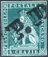 ITALIE TOSCANE N°6 OBLITERE - Toscane