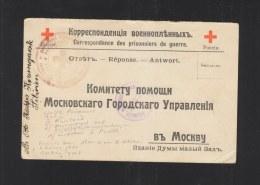 Russland Russia Kriegsgefangenen PK Krasnojarsk Sibirien 1917 - Storia Postale