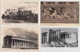 7 OLD POSTCARDS:   Grèce / Greece / Griechenland  / Griekenland - (3 Scans) - Postkaarten