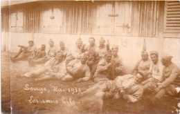 """Photo Originale D´un Groupe Au Camp De Souge En 1930 """"les Sans Biles, Très Décontractés !! (20.42) - Guerre, Militaire"""