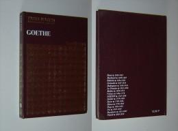 GOETHE Numéro Culturel Hors Série PARIS MATCH LES GEANTS - Biographie