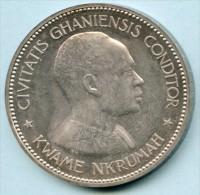 GHANA -10 shillings Kwame Nkrumah / �toile 1958