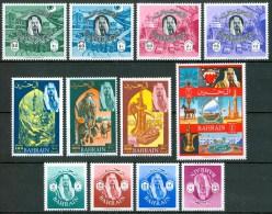 1966 Bahrein Set MH* Yvert 142/53 - Bahrein (1965-...)