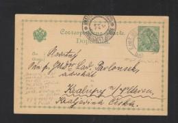 Bosnien Herzegowina GSK 1906 Banjaluka - Ganzsachen