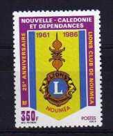 New Caledonia - 1986 - 25th Anniversary Of Noumea Lions Club - MNH - Nuevos