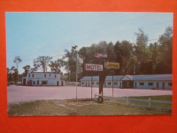 27507 PC: CANADA: ONTARIO: Barrie, LOR-LEE MOTEL & Texaco Service Station. - Autres