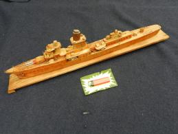 ANCIENNE MAQUETTE TORPILLEUR 39-45  à Voir !!!!!!!!!!!!!!!!! - Boats