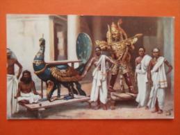 27513 PC: CEYLON: Hindoo God Siva. - Postcards