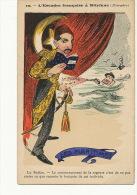 Satirical Card French Squadron In Mitylene Les Maritimes Sultan - Turkey