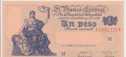 Argentina 1 Peso 1947 Pick 257 UNC - Argentinië