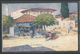 - REPRODUCTION GRECE - Salonique, Rue Kassandra - Greece