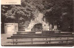 Edegem-Edeghem (Antwerpen-Anvers)-1909-Grot O.L.V. Lourdes-Grotte N.D. De Lourdes-Photo Em. Schrey-Berchem - Edegem