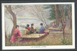 - REPRODUCTION JAPON - Hakone, Le Lac - Altri