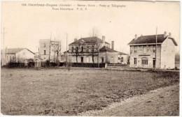 CAMIRAN-BAGAS - Mairie - Ecole - Poste Et Télégraphe - Poste Electrique    (60677) - France