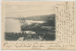 Valparaiso Playa En El Almendral  Ship Chivilonga Temporal Junio 1904 Edit Kirsinger - Chile