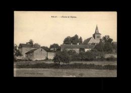 21 - NOLAY - Ecole Et église - France