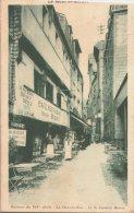 MONT  SAINT MICHEL / GRANDE RUE /CAFE RESTAURANT  VICTOR BEQUET /  LOT 822.M - Le Mont Saint Michel