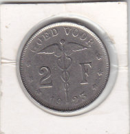 2 Francs  Nickel Albert I 1923 FL - 1909-1934: Albert I