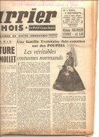 LE COURRIER CAUCHOIS YVETOT 4 FEVRIER 1956 COMPLET:LES POUPEES NORMANDES ... - 1950 - Oggi