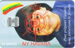 "***Télécarte De MADAGASCAR  ""NY HAVANA""  25Units Vide  TTB  A Saisir *** N° Lot:00626910 - Madagaskar"