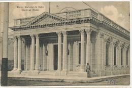 Cardenas  Banco Nacional De Cuba Back Bank Postcard Advert Edit Adolfo Argis - Cuba