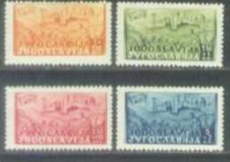 YU 1947-529-32 RAILWAY ŠAMAC SARAJEVO, YUGOSLAVIA, 4v, MNH - 1945-1992 Repubblica Socialista Federale Di Jugoslavia