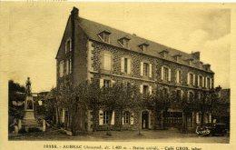 12 - AUBRAC - Café Gros - Monument Aux Morts - Otros Municipios