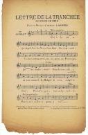 LETTRE DE LA TRANCHEE SOUVENIR DE 1914 - 1914-18
