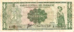 BILLETE DE PARAGUAY DE 1 GUARANI    (BANKNOTE) - Paraguay