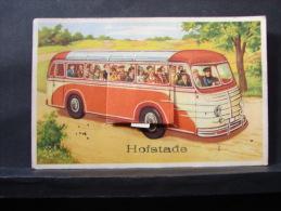 CP. 126. Hofstade. Autobus Avec Dépliant. Manque Les Petites Photos - Belgium