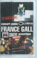 """K7 Audio - FRANCE GALL """" CONCERT PUBLIS - CONCERT PRIVE """" 19 TITRES - Cassettes Audio"""