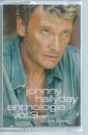 "K7 Audio - JOHNNY HALLYDAY  "" ANTHOLOGIE Vol. 3 - 1975/97 "" 22 TITRES - Audio Tapes"