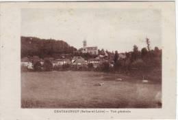71 Chateauneuf  Vue Générale - Francia