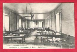 35-Châteaugiron-petit Séminaire Ste Croix -un Réfectoire-très  Belle Cpa - Châteaugiron