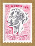 PLAQUETTE POUR EDITION DE TIMBRE MONACO POSTE AERIENNE  DEO JUVANTE JOYEUX NOEL - Stamps