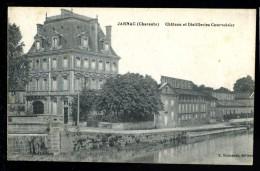 Cpa  Du 16  Jarnac Château Et Distilleries Courvoisier     MABT41 - Jarnac