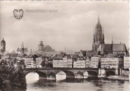 Greetings Frankfurt Mainansicht Real Photo