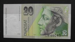 Slovakia - P 20e -  20 Korun - 2001 - Unc - Look Scan - Slovakia